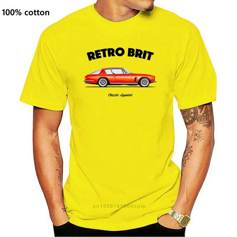 New 2021est 2018 Funny T-Shirt Men Jensen Interceptor T-Shirt. Retro Brit. Classic Car. British. V8. Modified. Custom Tee Shir