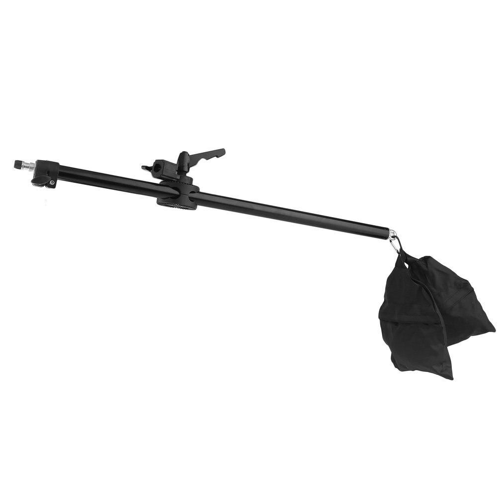 17-141cm Cámara Cruz brazo soporte extensión telescópica brazo estudio foto soporte luz superior Soporte accesorios de equipo fotográfico