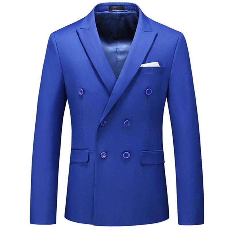 أحدث صيحات الموضة لعام 2021 من البوتيك الرجالي غير الرسمي بأزرار مزدوجة الصدر بدل وجاكيت ومعطف