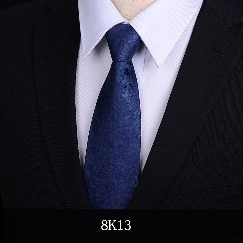 2020 Designer New Fashion 8cm Ties for Blue Neckties Wedding Bridegroom Banquet Formal Suit Business Accessories with Gift Box