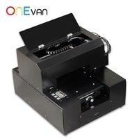 ONEVAN.Cheap A4 size UV printer entry-level UV printer flat object flatbed printer universal UV printer