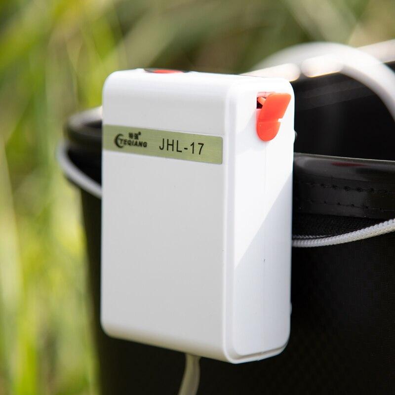 USB Charging Super Mute Air Pump Rechargeable Lithium Battery Power Oxygen Air Compressor Aquarium Fish Tank Outdoor Fishing
