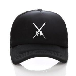 anime sword art online Printing Sport Sun hat unisex Accessories Cosplay Hip-Hop Fashion Boy Girls cap