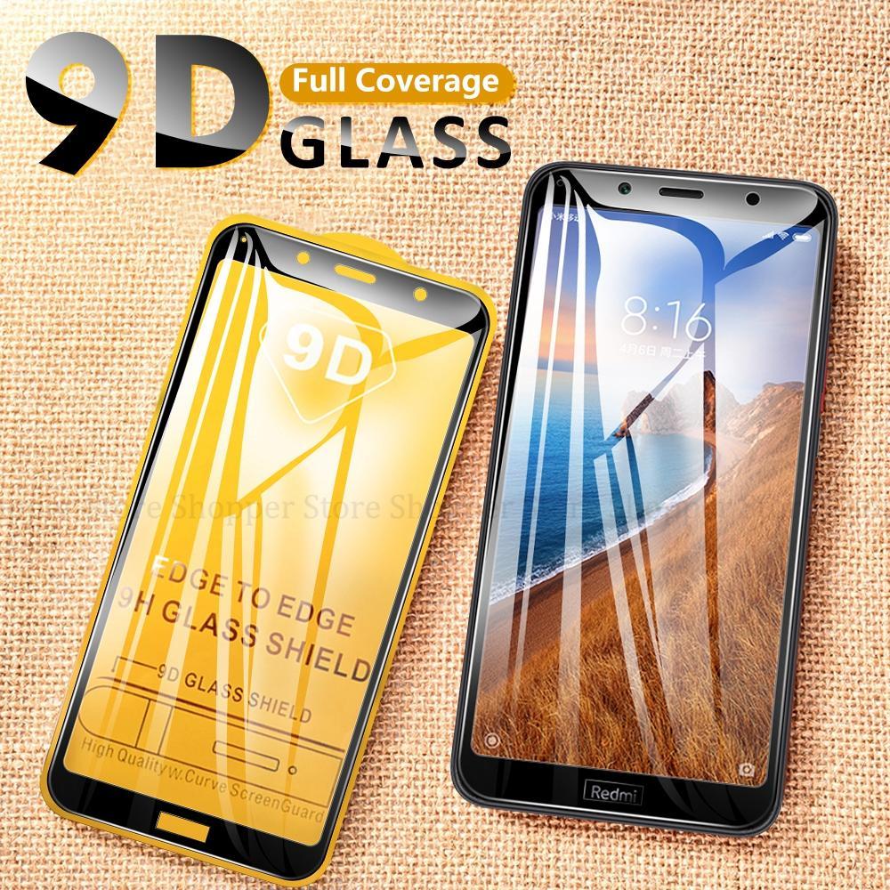 9D cristal de la cubierta de la pantalla completa para Xiaomi Red mi Note 7 Pro K20 Pro mi 9T vidrio para Xiaomi redmi 7 7A Y3 6 6 6 6 6 Plus 5A 4X ir
