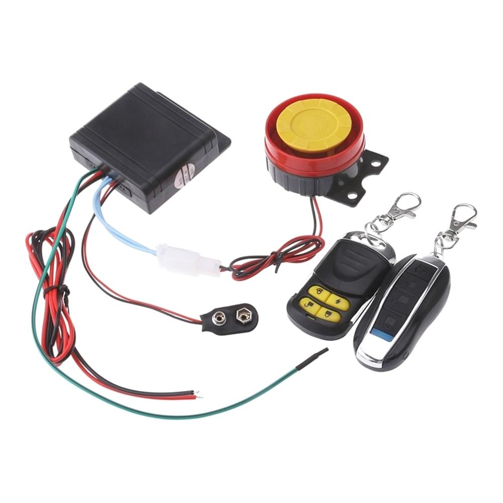 Sistema de Alarma antirrobo para motocicleta, accesorios de protección para motocicleta, 12V