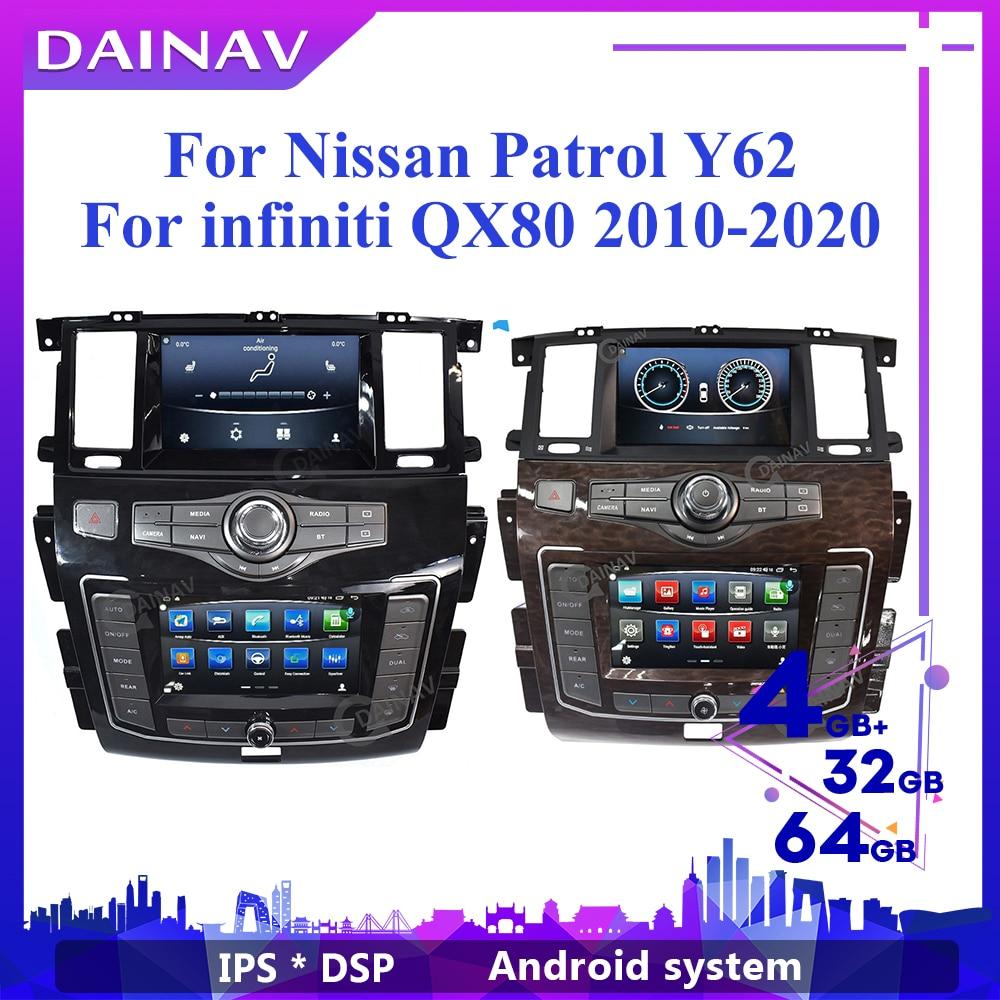 2 Din nuevo Dual pantalla GPS para coche de navegación para Infiniti...