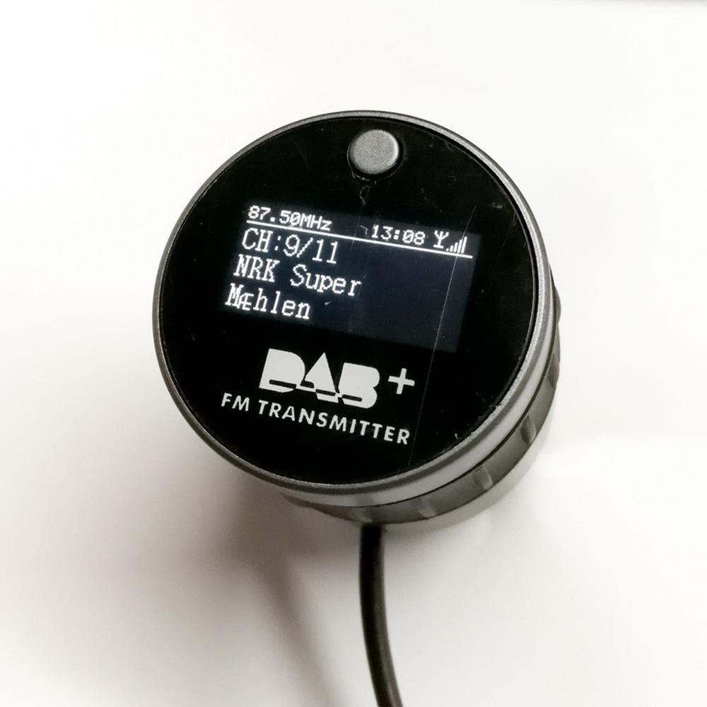 Receptor de Radio de coche DAB +, sintonizador de Radio Digital con...