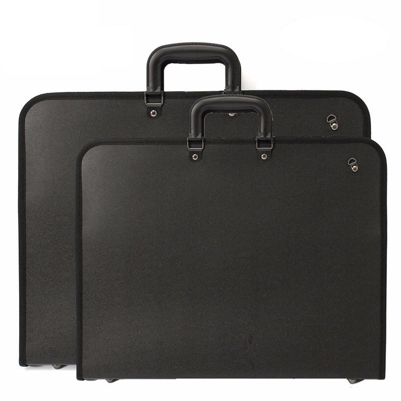 Briefcase A2 paint folder, document sorting bag, office zipper storage bag, school stationery