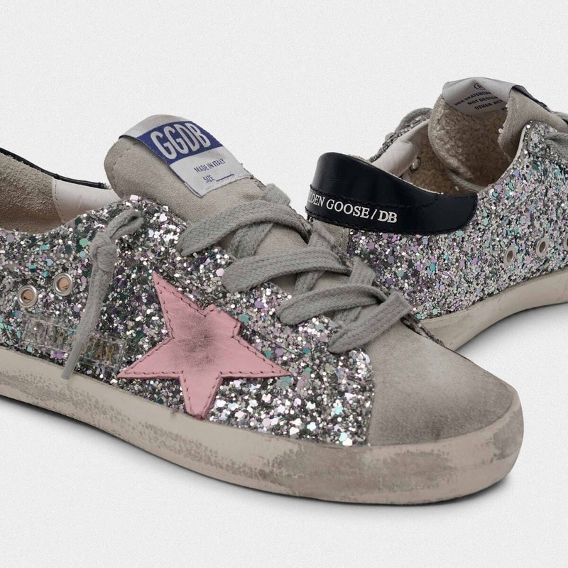 Children's Spring and Summer 2021 New Sequins  Retro Old Small Dirty Shoes Boys  Girls Casual Parent-child Fashion Shoes CS201 enlarge