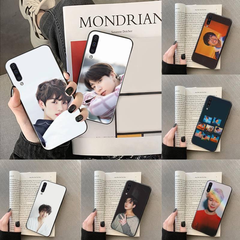 Jungkook kpop corea del cantante pintado caso de teléfono para Samsung Galaxy J2 J4 J5 J6 J7 J8 2016 de 2017, 2018 Pro plus Neo duo