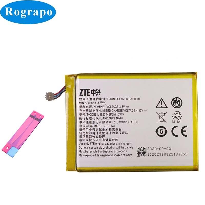 2300mAh LI3823T43P3h715345 batería de repuesto para la batería de ZTE Grand S Flex / MF910 MF910S MF910L MF920 MF920S MF920W Router WIFI módem