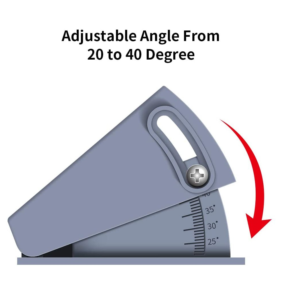 Doorbell Adjustable 20 to 40 Degree Angle Mount Bracket Compatible with Wireles Video Bell, Angle Adjustment Mounting Plate enlarge