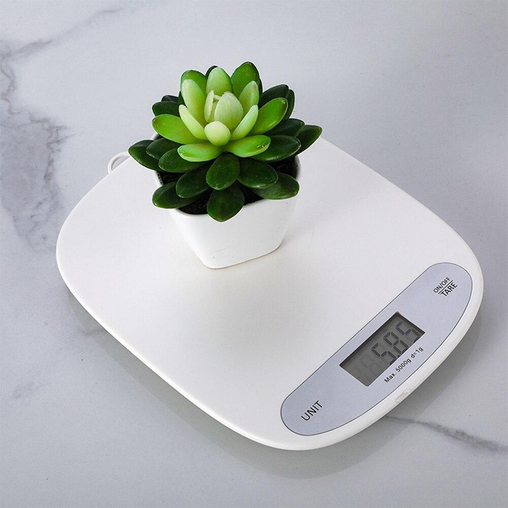 Пищевые весы на батарейках, портативные бытовые 5kg1g, бытовые кухонные весы, цифровые мини-весы для приготовления пищи и выпечки