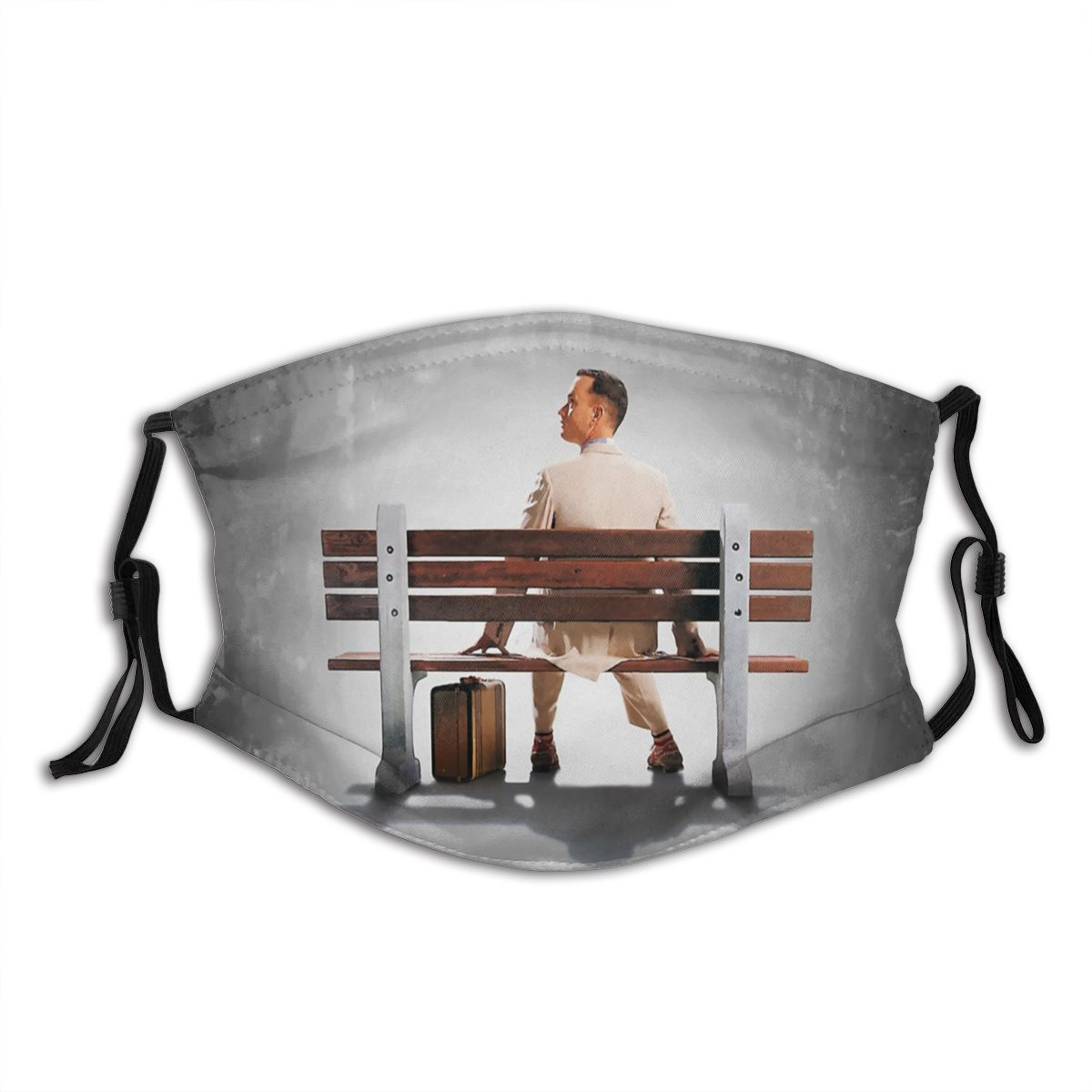 Forrest Gump Adult Mouth Face Mask Tom Hanks Movie Anti Haze Dustproof Mask With Filters Protection Mask Respirator Mouth Muffle