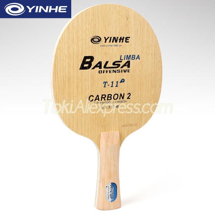 YINHE T11 / T11+  (Balsa Light Weight Carbon) YINHE Table Tennis Blade T-11 Original Galaxy Racket Ping Pong Bat / Paddle