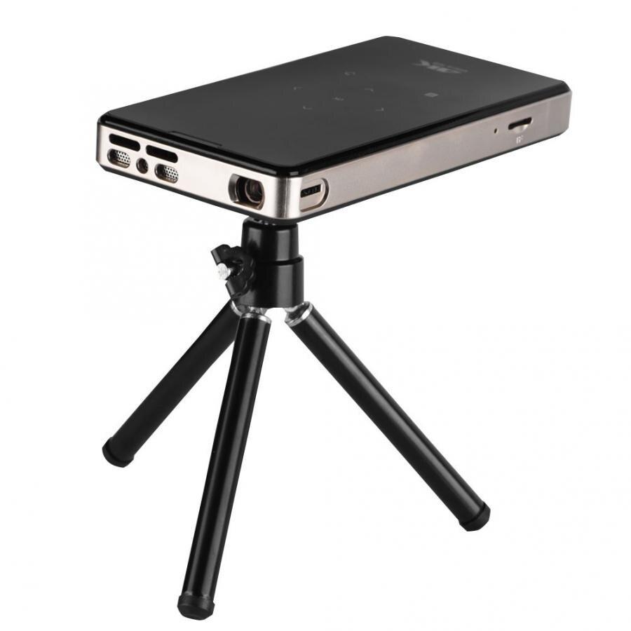 Micro projetor led 4 k dlp micro projetor 2.4g wifi 10001 projetor de vídeo de controle de telefone com 8 gb memória excelvan