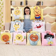 RYAN APEACH plush pillow toy kawaii TUBE MUZI stuffed doll nap quilt cartoon sofa cushion children's day gift girlfriend present