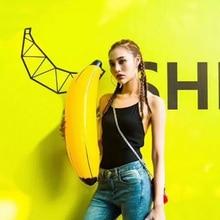 PVC Fruit Banana Balloon Inflatable Blow Up Balloon Wedding Birthday Supplies Party Supplies Pool Water Toy Simulation Banana