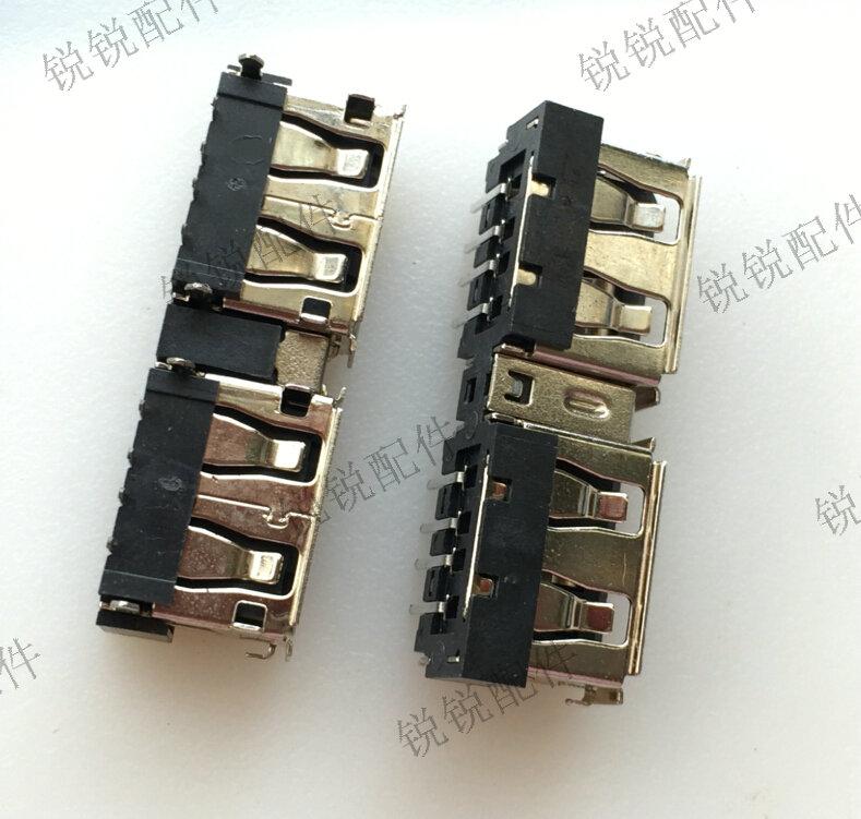 (5 pces) conector fêmea do usb da relação de usb 2.0 para asus k40ab k40in k40ij k50ab k50in