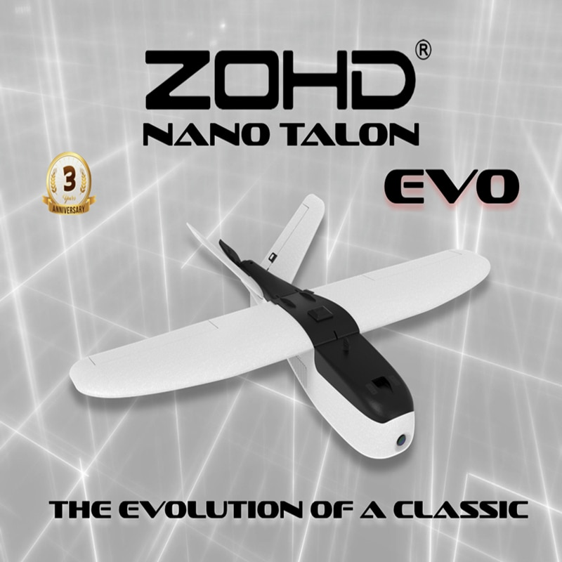 ZOHD Talon EVO 860mm Wingspan AIO V-Tail EPP FPV Wing RC Airplane PNP/With FPV Ready