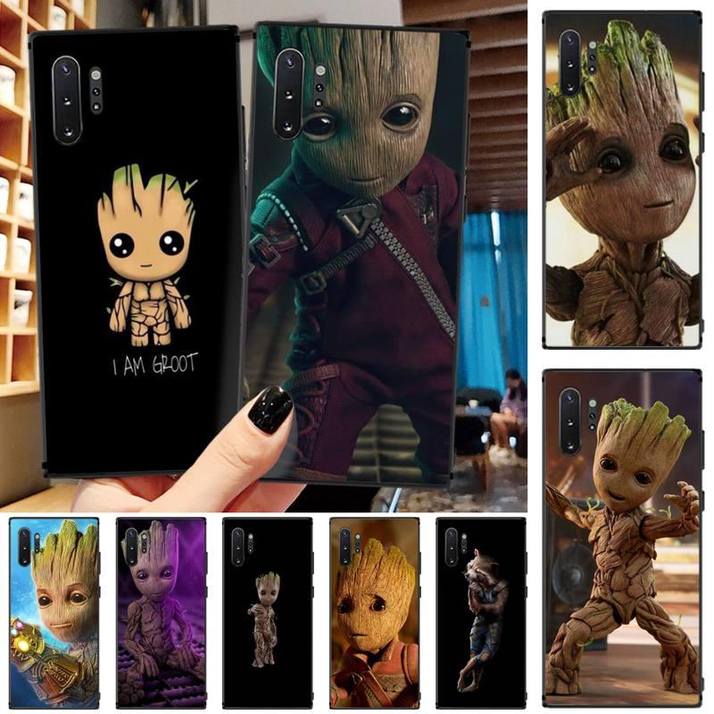 Mantin Мстители Guardian Groot пользовательские фото мягкий чехол для телефона Samsung Galaxy Note3 4 5 7 8 9 10 Pro M10 20 30 A3 2 310 6 7
