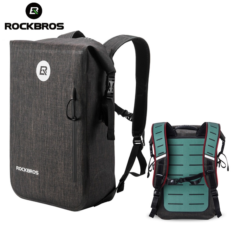 ROCKBROS Bicycle Bag Waterproof Outdoor Sports Bag Travel Hiking Camping Bike Backpack Casual School Backpack Fishing Gym Bag
