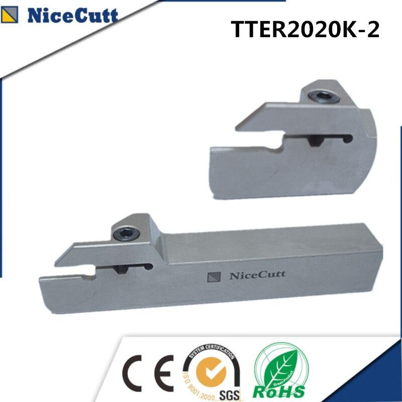 Torno de TTER2020K-2Series, máquina CNC para inserción Solt, cortador de ranurado TDC, herramienta de ranurado Nicecutt de mano derecha, Envío Gratis