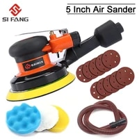 5 inch pneumatic air vacuuming sander polisher tool polishing machine for car paint care wood grinder polisher rust removal