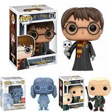 Funko POP nowy Draco Malfoy Harri Potter jęczący Myrtle edycja limitowana winylu lalki model figurki zabawki dla dzieci prezent na boże narodzenie