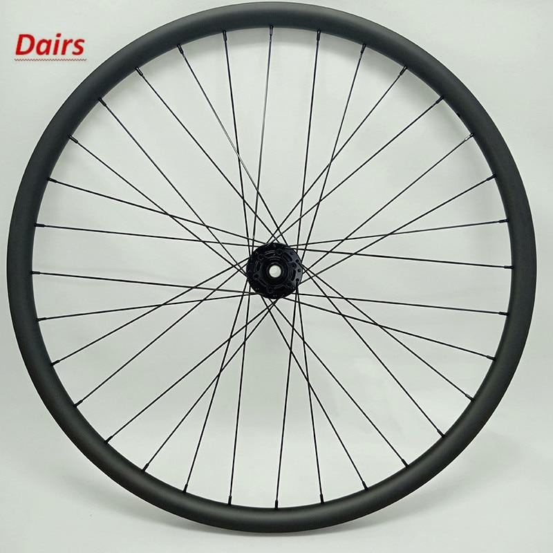 29er carbono mtb bicicleta Ultraleve roda bitex R211 impulso 110x15mm 30x22 milímetros tubeless roda dianteira mtb rodas de carbono 1420 raios
