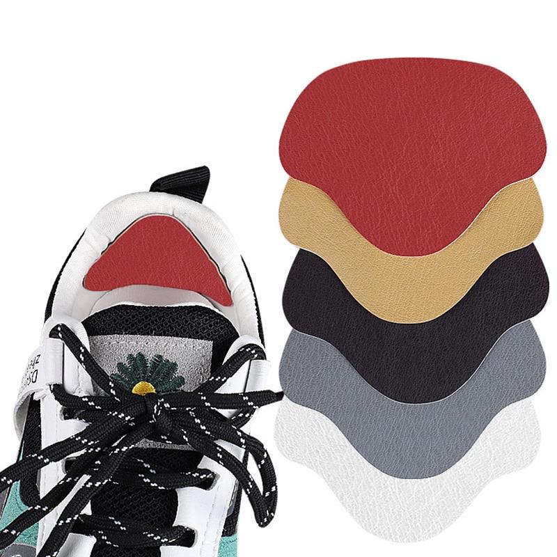 4pc Heel Protector Sneakers Repair Stickers Shoes Mesh Worn Holes Shoes Repair Patches Shoes Heel Li