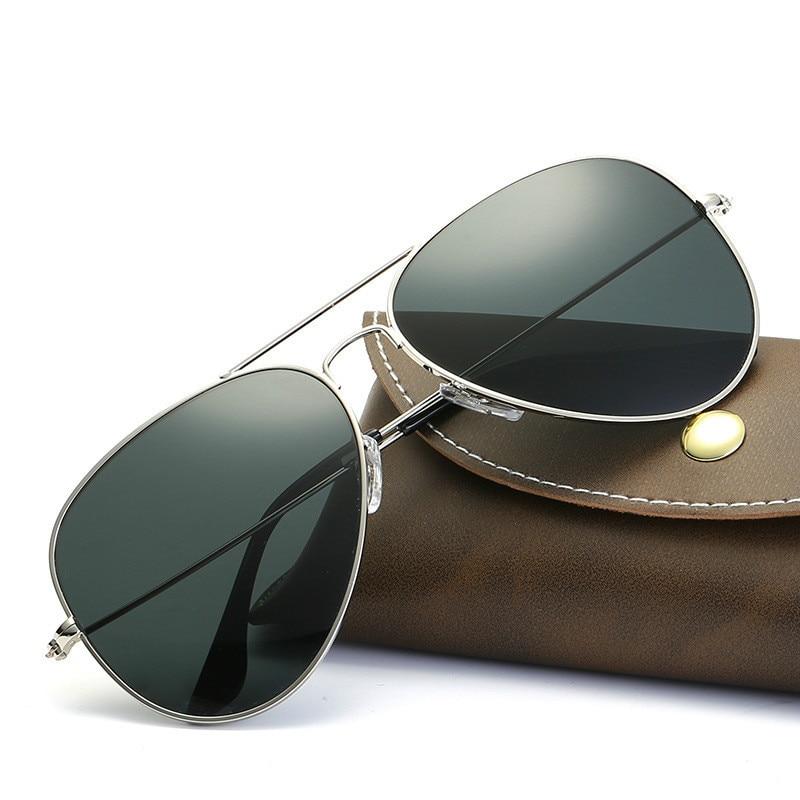 Pilot Sunglasses Women/men Classic Aviation Sun Glasses Drivingmale Luxury Brand Real High Quality O