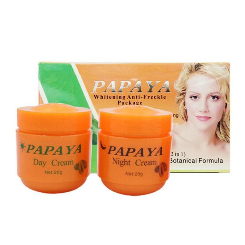 2 Pcs Face Cream Vitamina C Whitening Cream Skin Care Anti Freckle Face Cream Skin Care Face Cleaser
