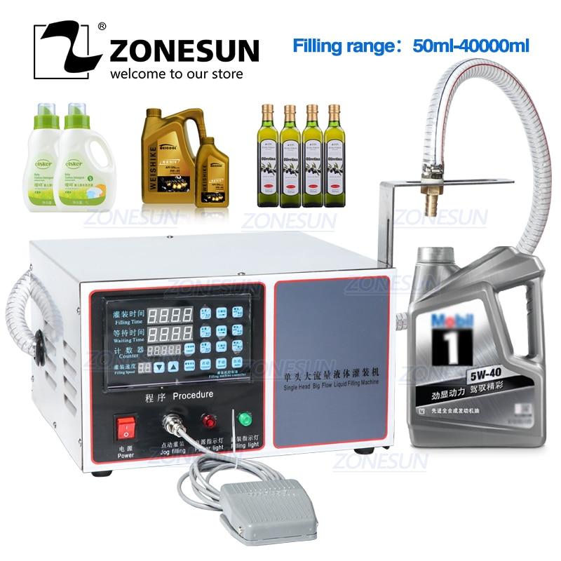 ZONESUN GZ GFK17C автоматическая машина для розлива стирального порошка шампунь масло