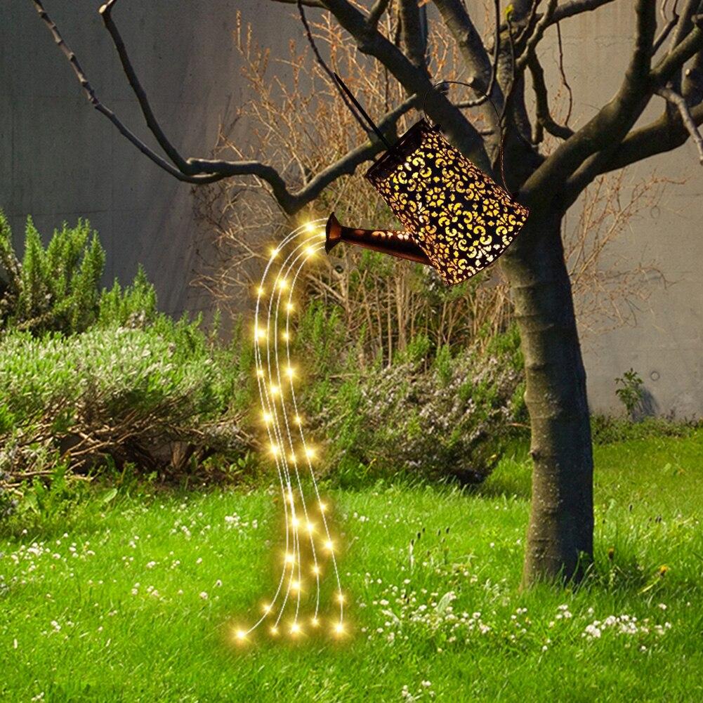 solar paisagem iluminacao decoracao da lampada de ferro forjado a prova de ferrugem