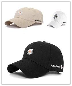 Net Red Daisy Flower Hat Baseball Cap Spring And Summer Hat Men And Women All-Match Sunshade Cap