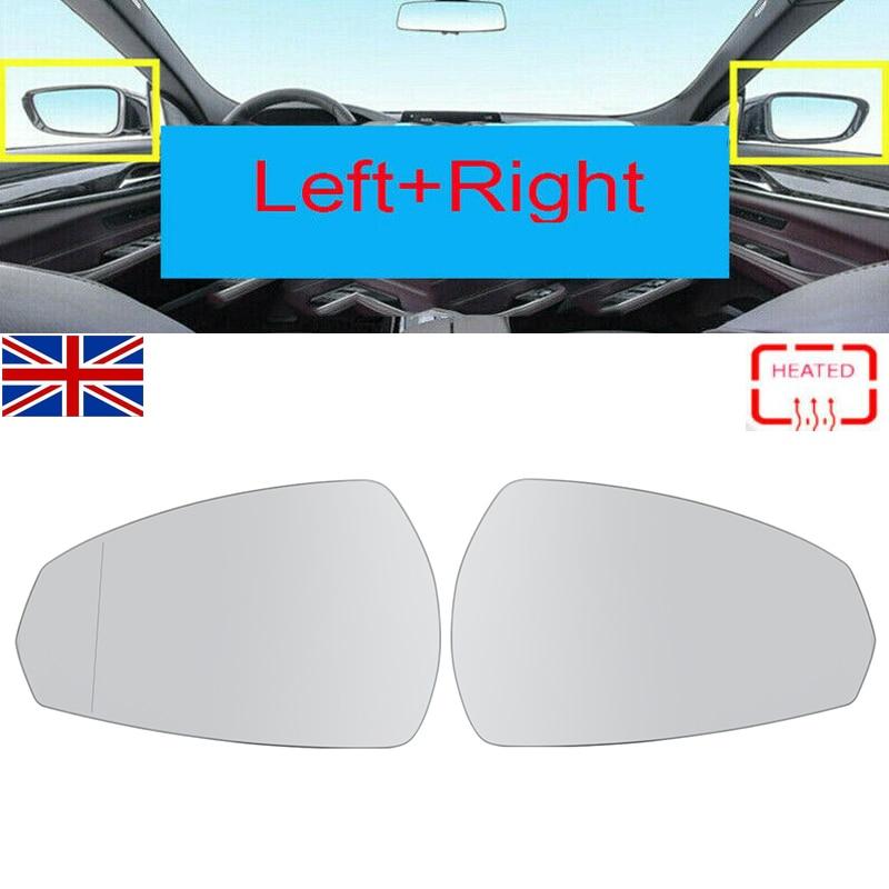 Par de espejos MagicKit con controlador de placa + pasajero para AUDI A3 Sportback (8VA, 8VF) 2012 +