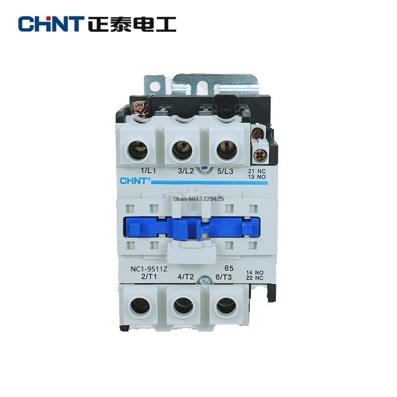 CHINT NC1-9511Z السكك الحديدية جبل قواطع الصناعية موصل كهربائي DC 24V DC36V DC48V DC110V DC220V NC1-9511 LC1