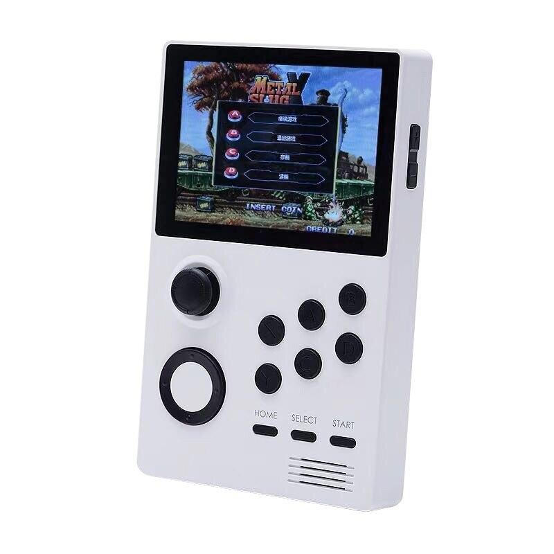 Nueva caja Pandora A19, Android supremo, consola de juegos Retro IPS Sn incorporada de 3000 + juegos 30 3D, juegos blancos