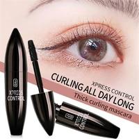 4d waterproof mascara slim deep eyelash brush extend black thick lengthen eyelashes cosmetics eyebrows eyelashes beauty tools