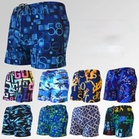 swimming boxer shorts quick drying water park hot spring beach shorts loose swimming trunks suitable for outdoor water sports
