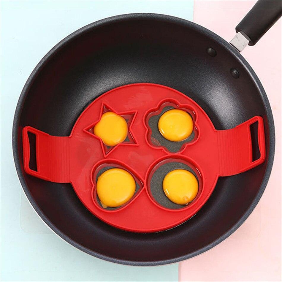 ¡Oferta! tortita de silicona TTLIFE fabricante de anillos de huevo antiadherente fácil fantástico molde para tortillas utensilios de cocina