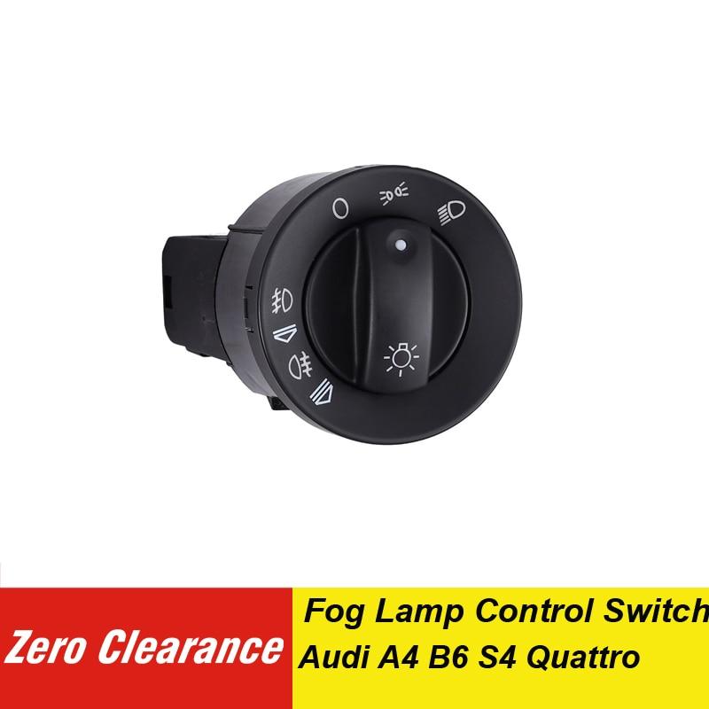 8E0941531 8E0941531A 8E0941531C faros interruptor de Control de luz antiniebla para Audi A4 B6 B7 faro interruptor de encendido 8E0 941, 531