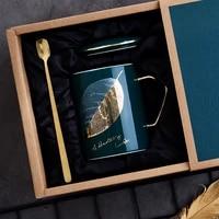 charm universal mug packaging box ceramic fashion brief cups couple gift tazas desayuno originales creative coffee mugs bd50ms