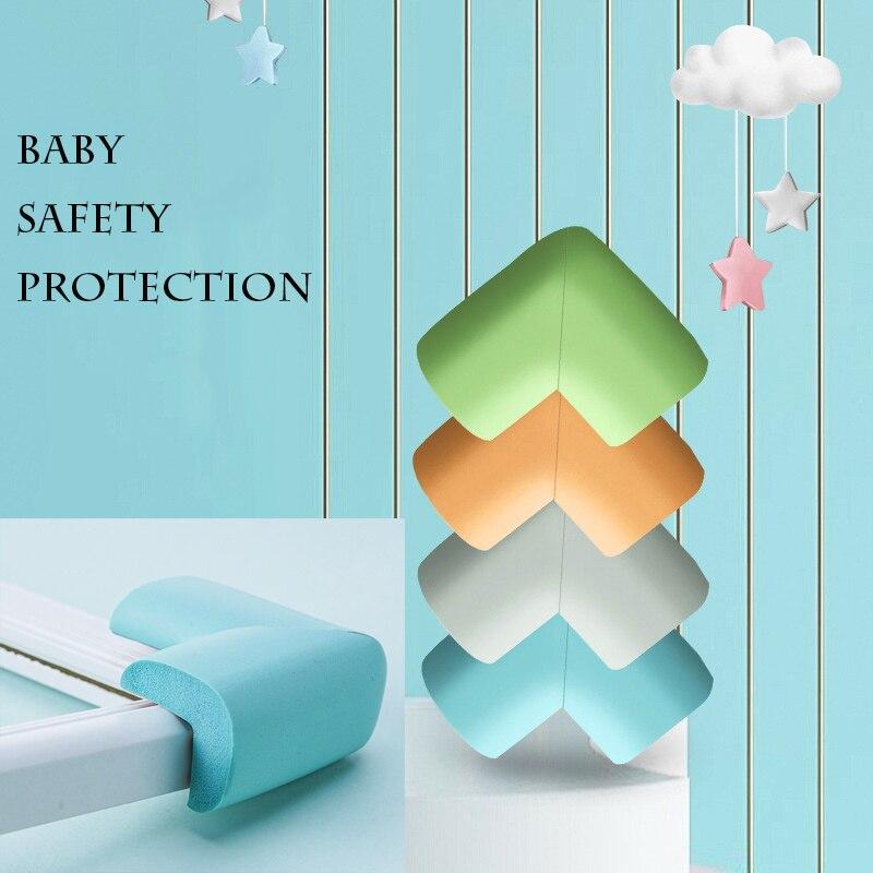 4 шт./компл. Детские Безопасность защита покрытие углов для стола бытовой Детский анти-столкновения мебель подушка угла ринга; Безопасность ...