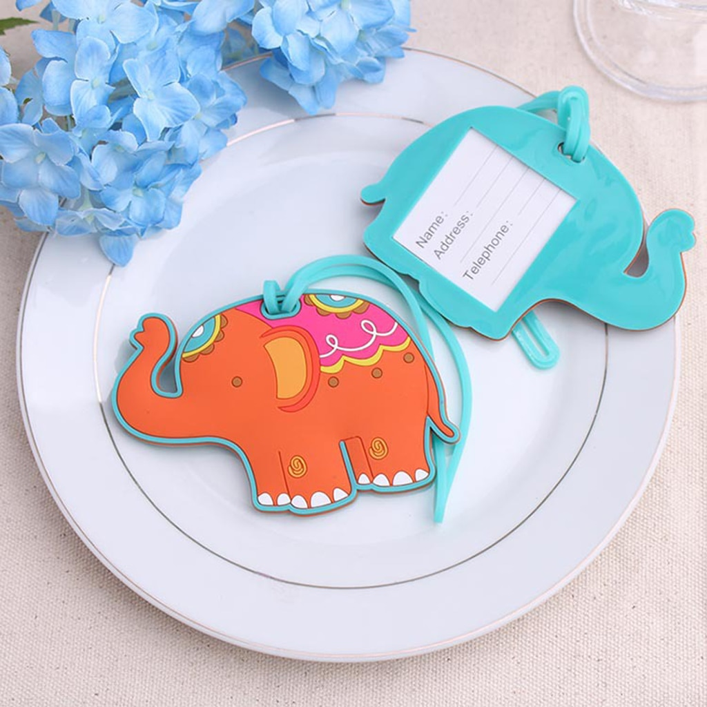 new fashion aluminium metal travel luggage tag baggage suitcase bag name address id label Fashion Elephant Silicone Travel Luggage Tag Baggage Suitcase Bag Label Name Address Boarding Tag Travel Accessories