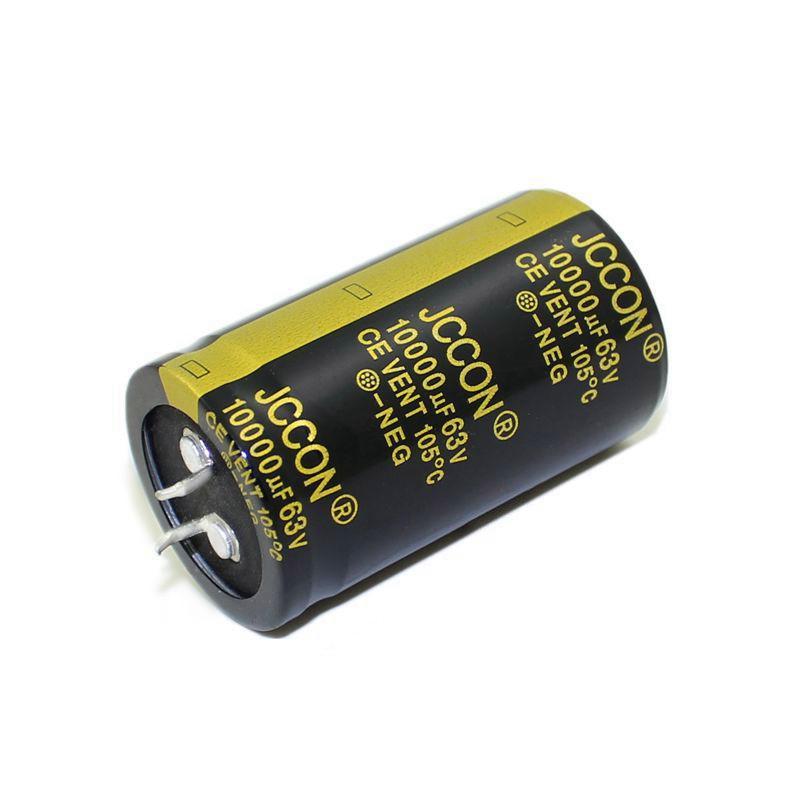 JCCON звуковой алюминиевый электролитический конденсатор 63В 10000мкф громкость 30x50 аудио усилитель