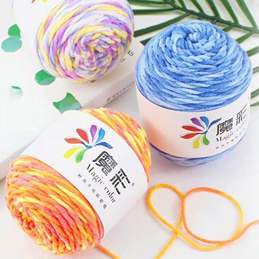 Hilo Lana Tejer hilo Wolle Crochet Laine Lana Para Tejer 5 hilos...