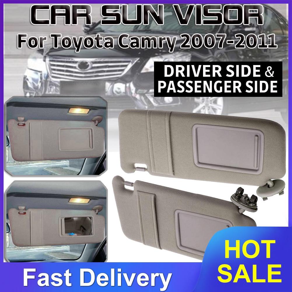 سيارة الشمس قناع HD مكافحة أشعة الشمس المبهر حملق يوم للرؤية الليلية القيادة مرآة UV أضعاف الوجه إلى أسفل لتويوتا كامري 2007 -2011