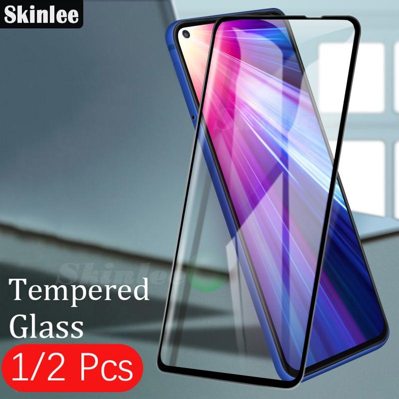 Skinlee 9D película protectora de pantalla para Moto G8 Power Lite vidrio templado cubierta completa para Moto G8 Plus película de pantalla de reproducción